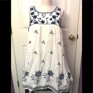 Altar'd State White and Cream Dress👗 NWT‼️